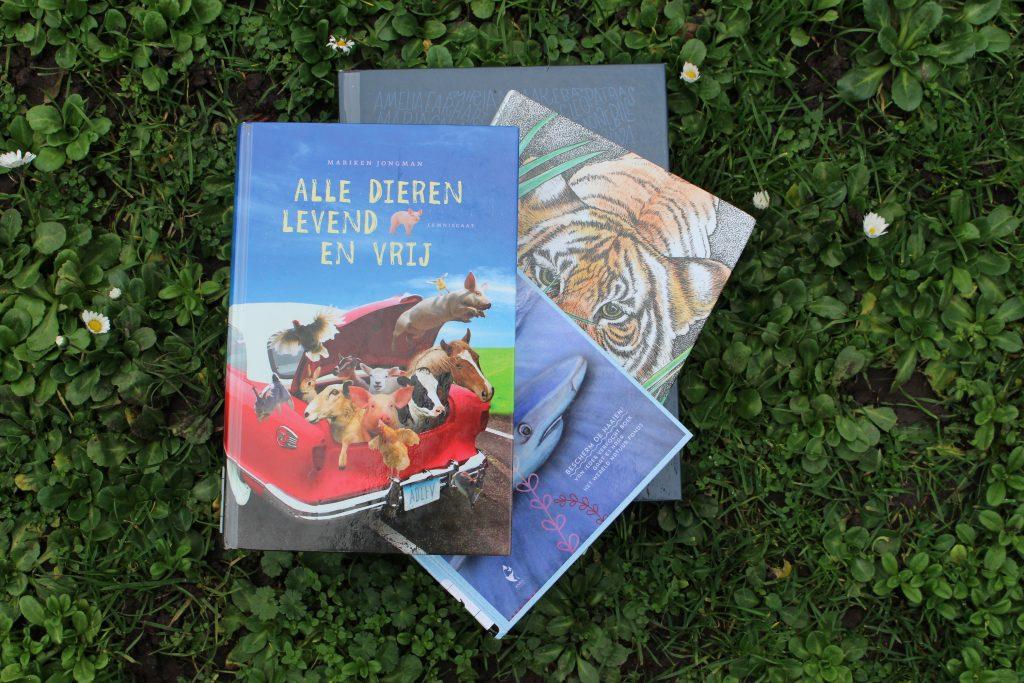 Mijn 4 favoriete kinderboeken van dit moment.